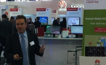 Huawei CeBIT 2013 presentador Acme Packet