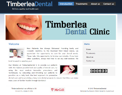 TimberleaDental Home